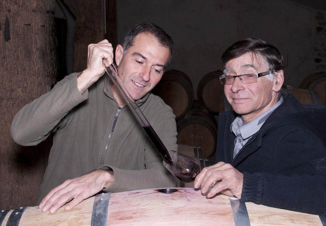 Christophe Cadis et Robert Armellin