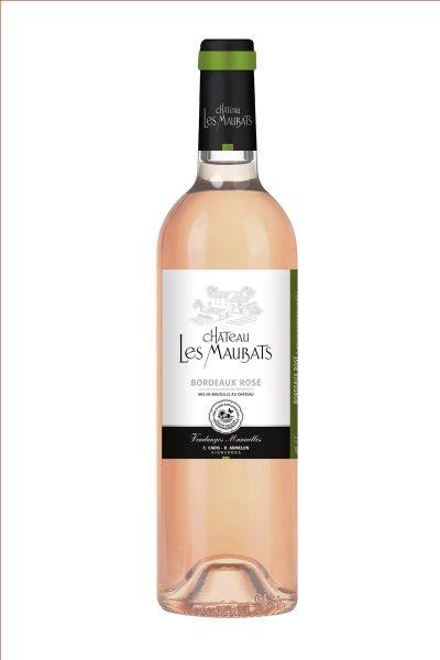 Vin rosé le rosé de Maubats producteur indépendant de vins de Bordeaux