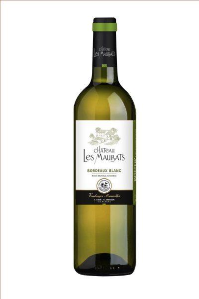Vin de Bordeaux Blanc sec Chateau les Maubats producteur à Roquebrune